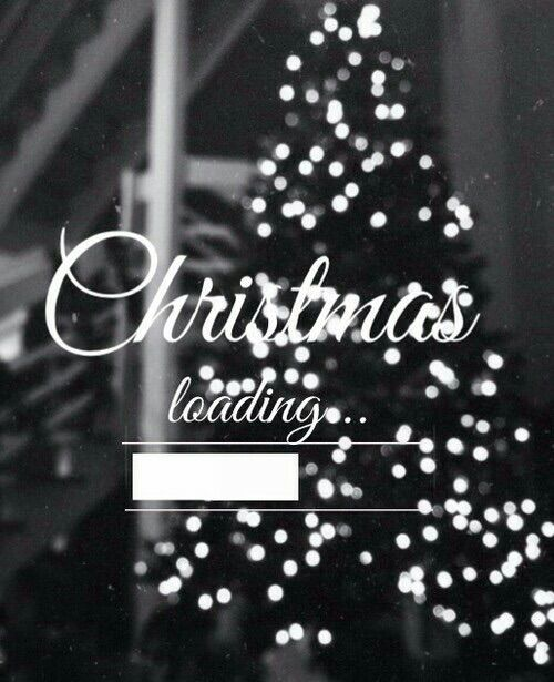 Black and White Christmas ~