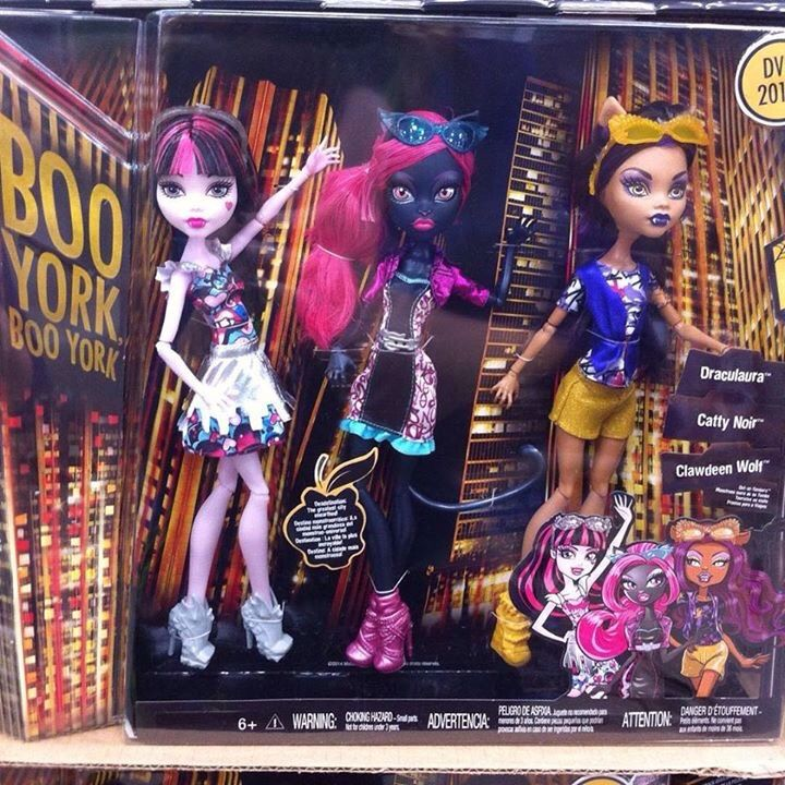 Monster High Clawdeen Wolf Speed datant