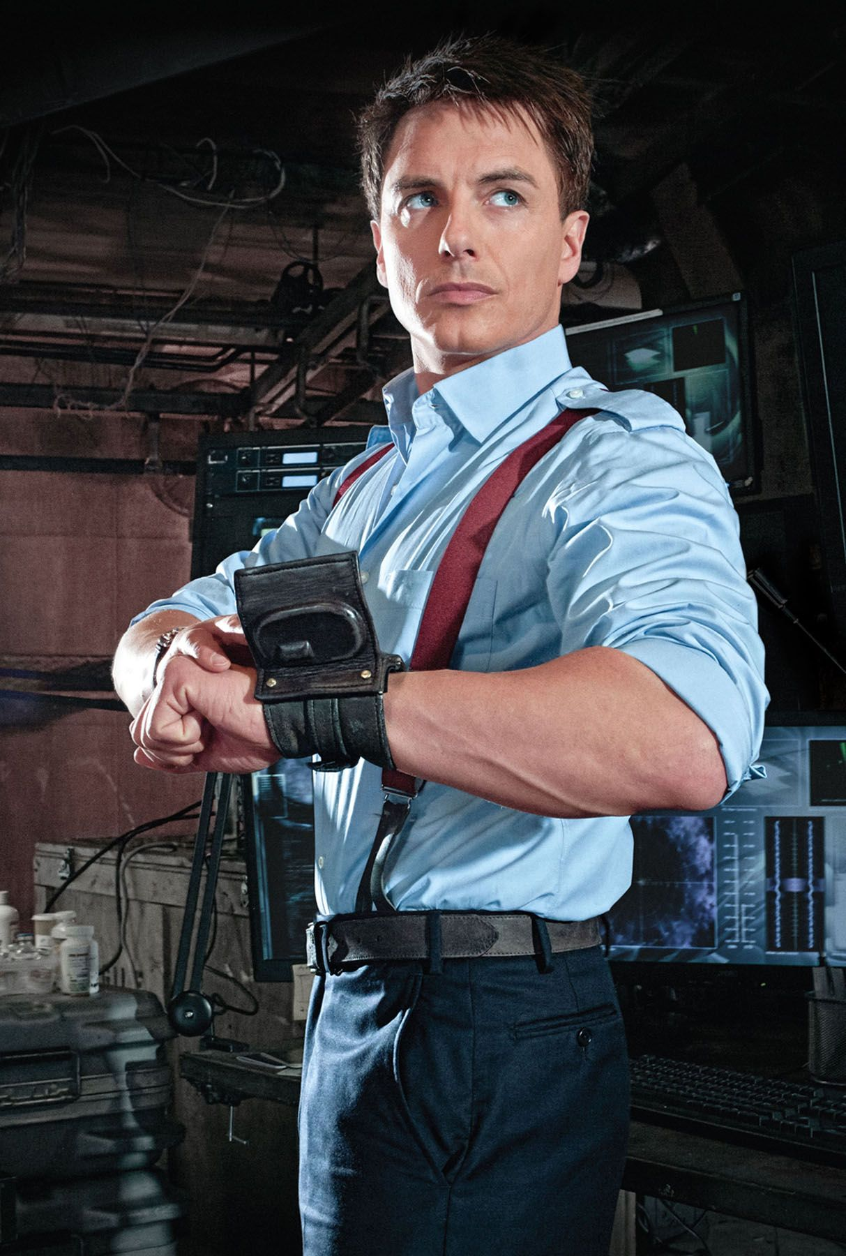 Captain Jack Harkness. I met John Barrowman this weekend ...