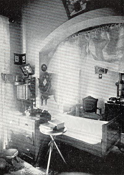 Kalamazoo Psychiatric Hospital - Patient's Room, 1892, Hall B ...