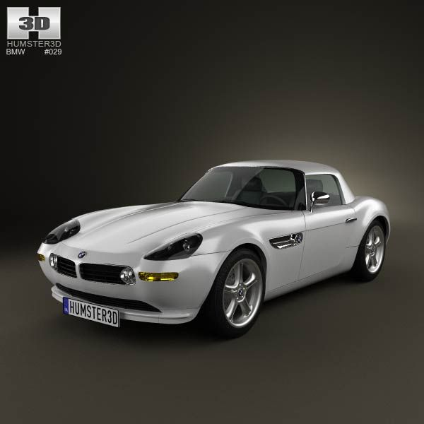 Bmw Z8 E52 3d Model From Humster3d Com Price 75 Bmw