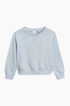 318969db05 Girls Next Pale Blue Crew Sweatshirt (3-16yrs) - Blue   Products ...