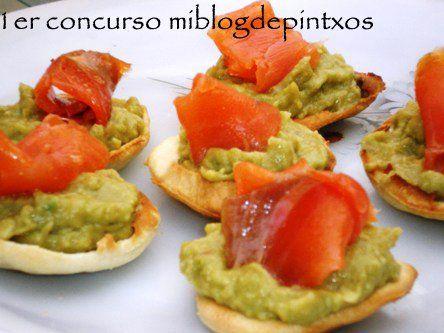 recetas de pinchos con guacamole