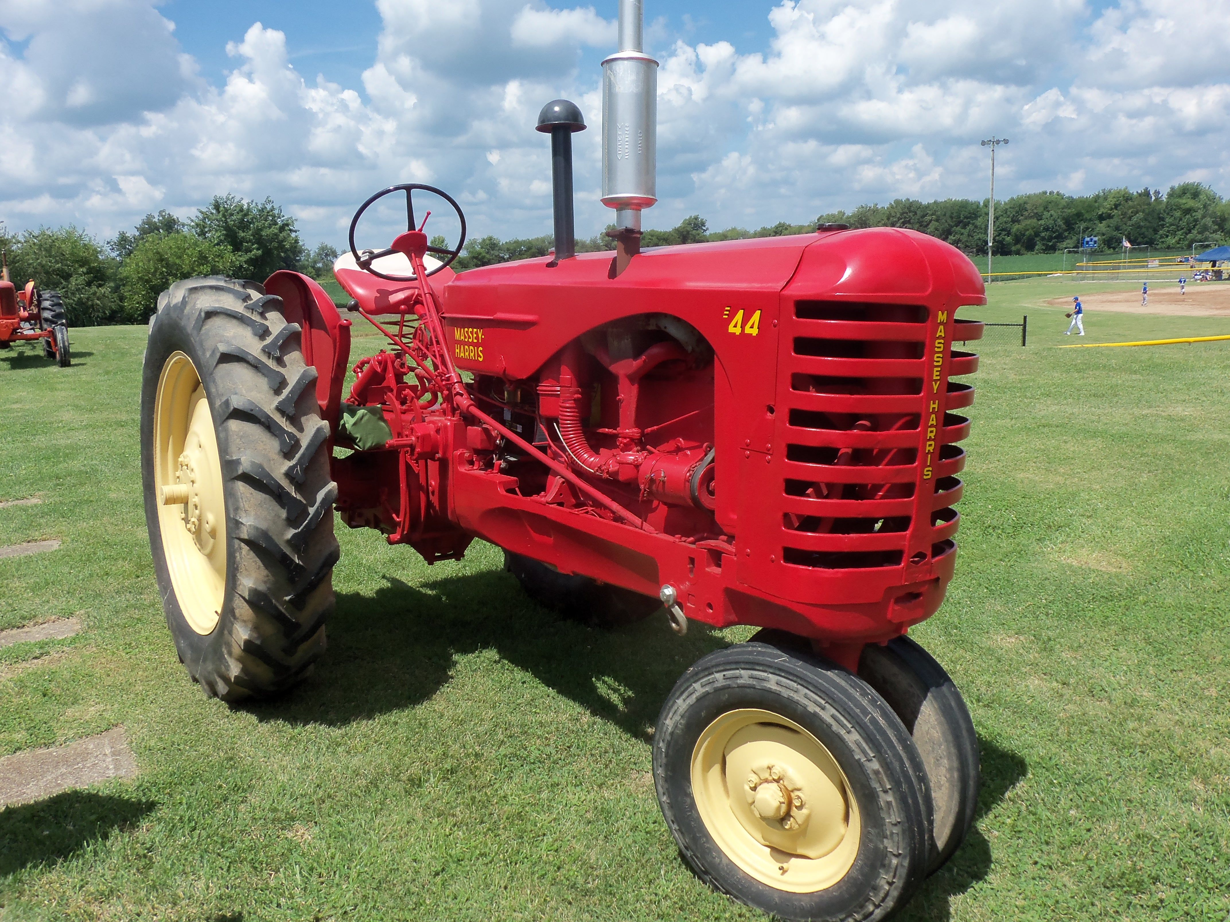 Massey Harris Tractor : Massey harris tricycle tractor ferguson