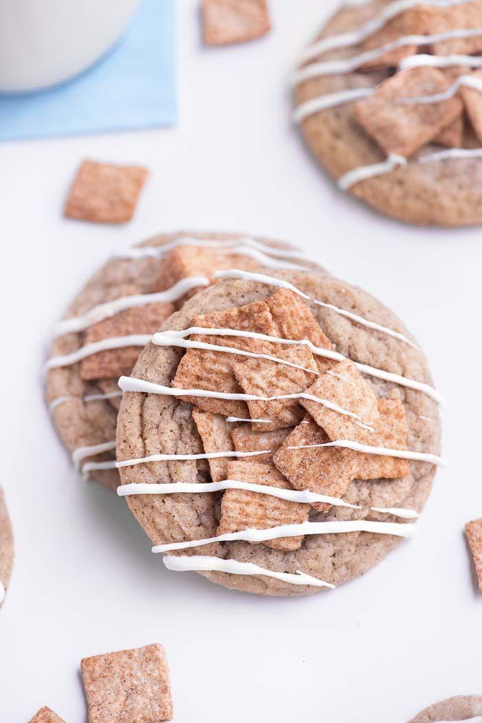 Cinnamon Toast Crunch Cookies #cinnamontoastcrunch