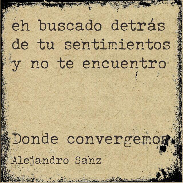 Alejandro Sanz Lyrics