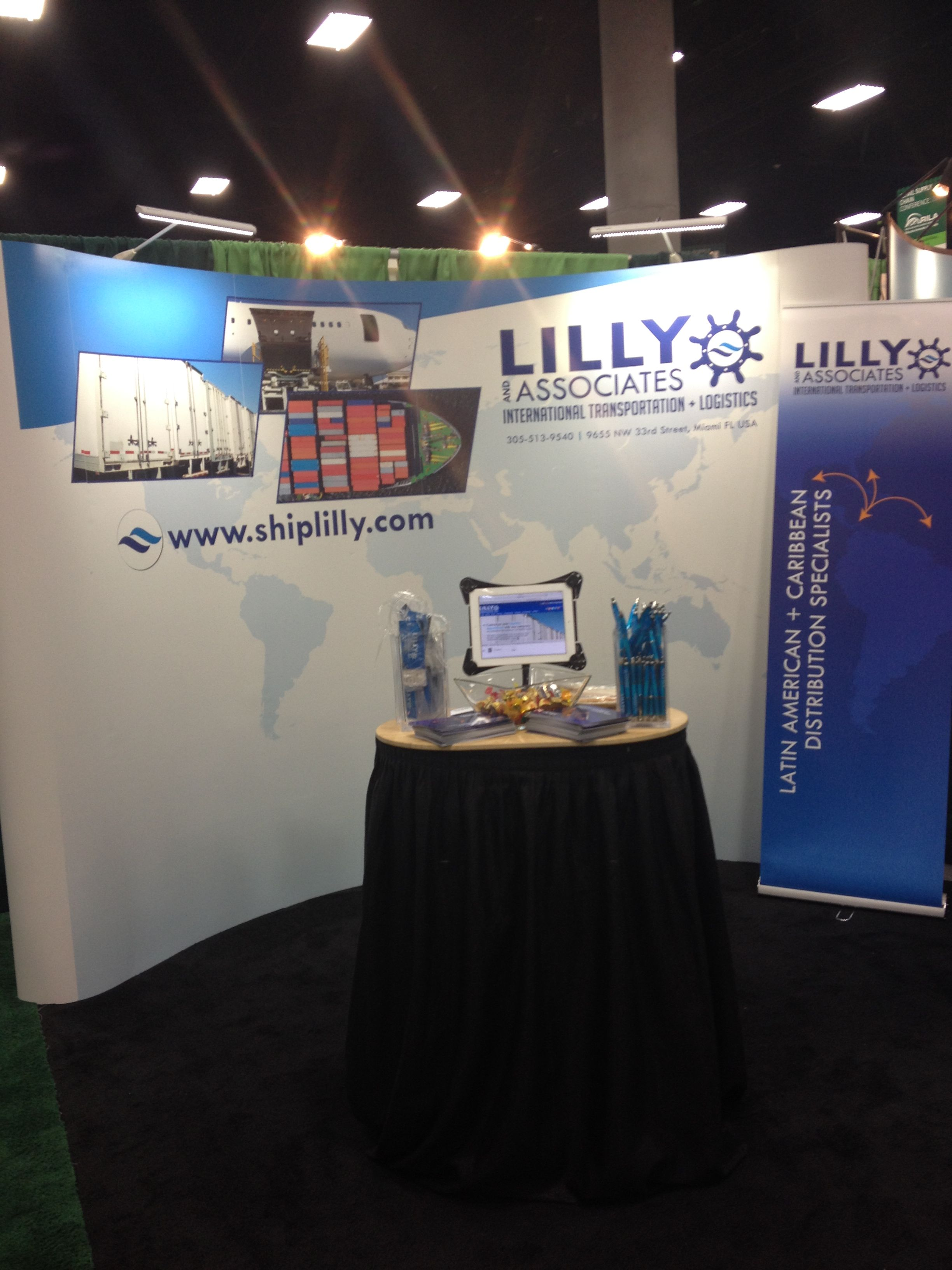 LILLY + Associates International at the Retail Industry Leaders Association Supply Chain 2014 conference in San Diego. #tradeshow #tradeshowbooth