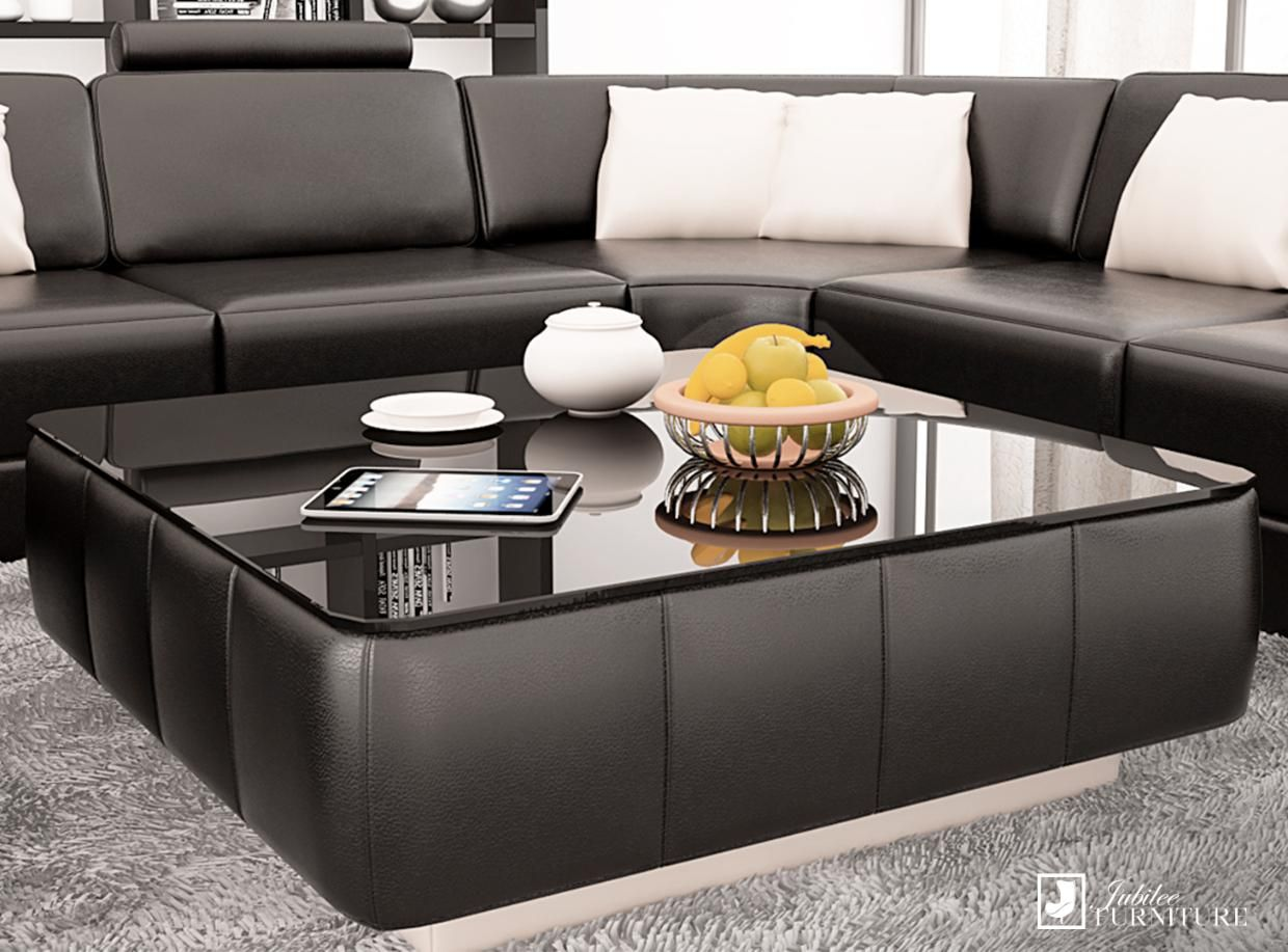 The Ideal Coffee Table To Complement Your Leather Sofa Shop In
