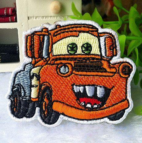 cars mater iron on patch 030 by chrisribbon on etsy 2 00 kiddos rh pinterest com