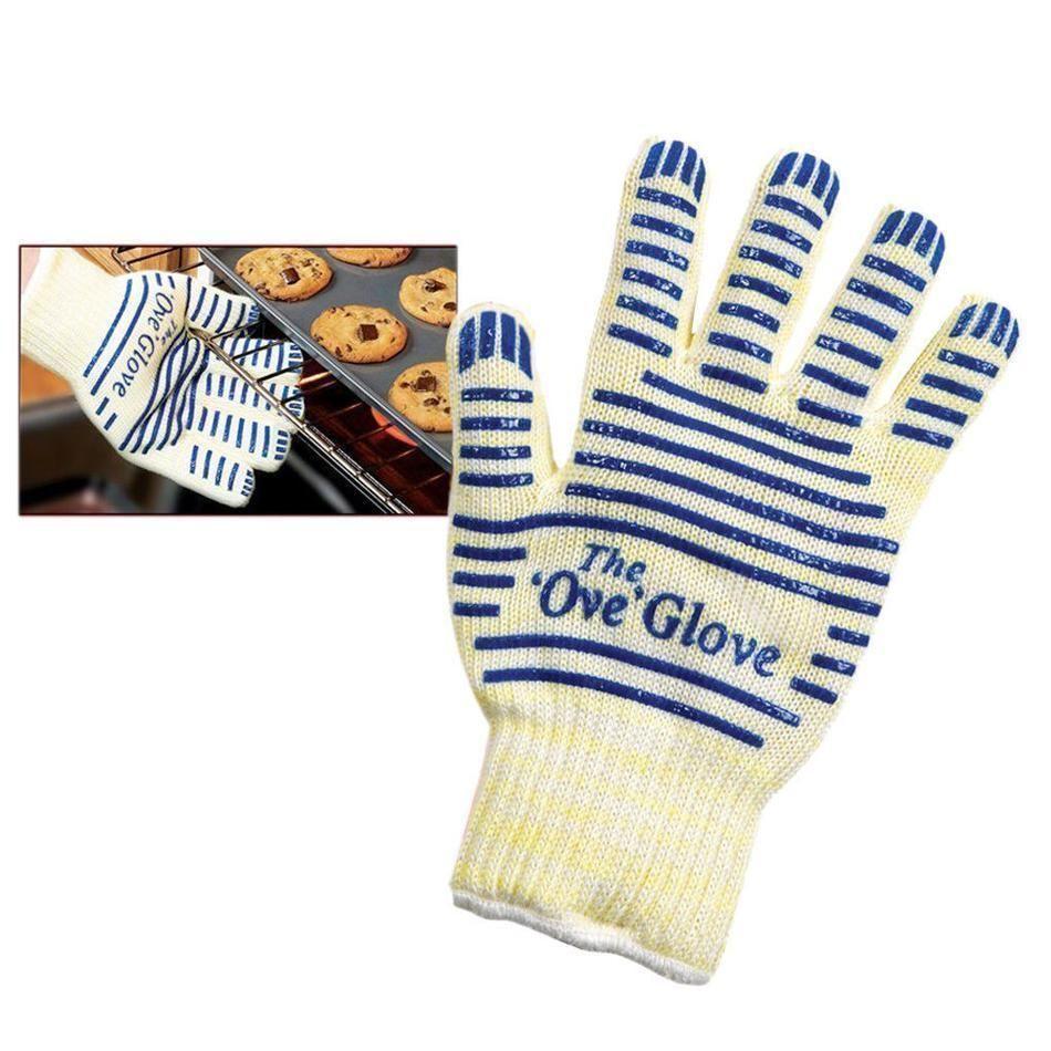 Black oven gloves john lewis - 1x The Ove Glove Heavy Duty Oven Glove Washable Non Slip Silicone Grip 540