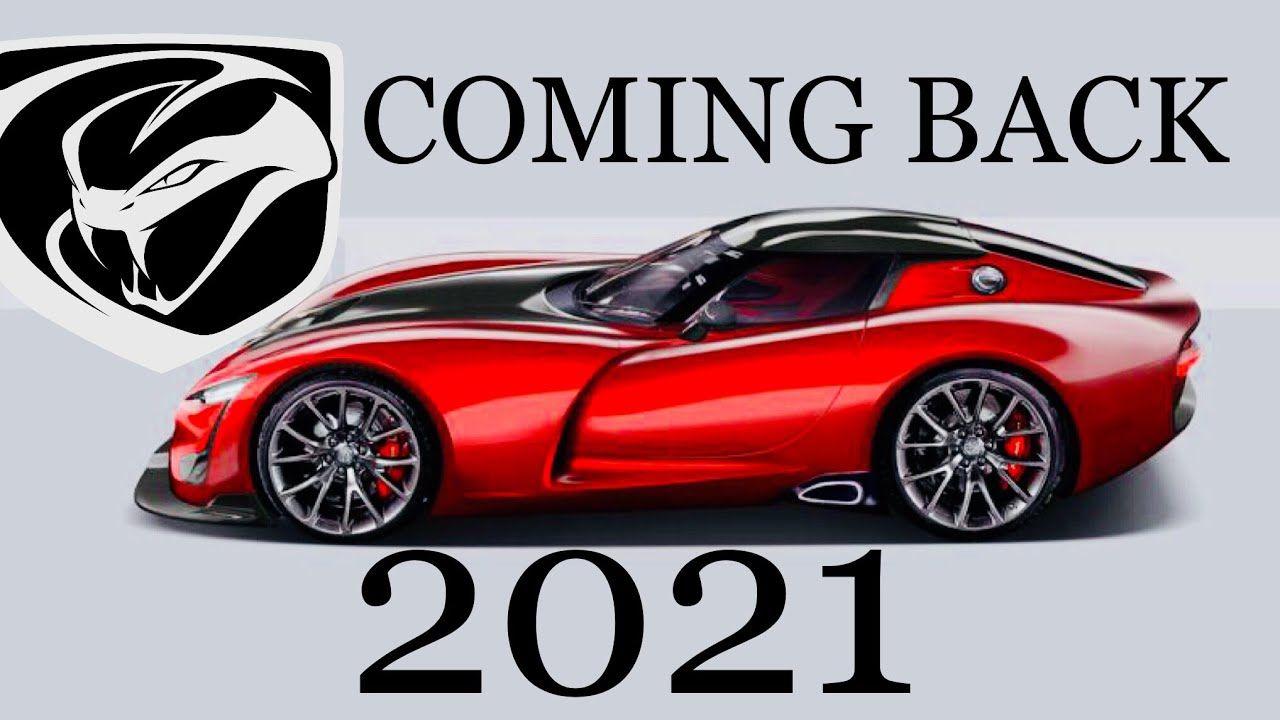 2021 Dodge Viper Roadster Release