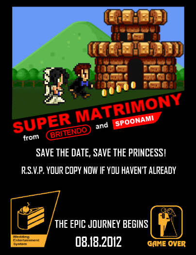 11 Great Video Game Wedding Invitations Ideas For The Big Day