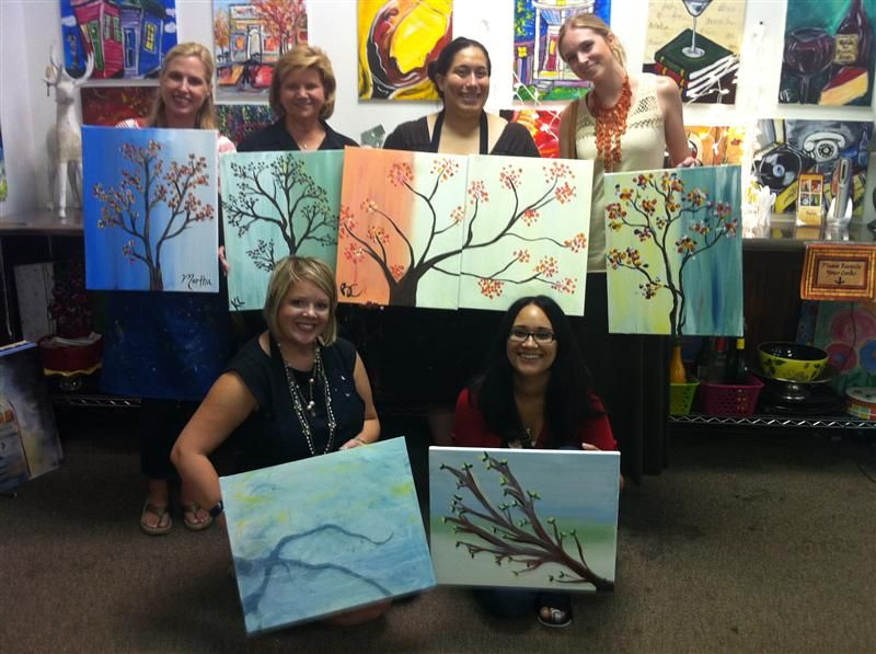 Fun Night Out In Dallas Tx Painting With A Twist Us Date Ideas