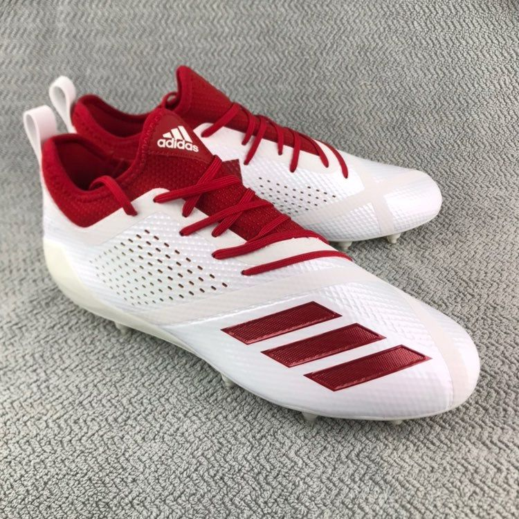Adidas adizero 5star 70 red white low football cleats