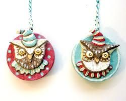 owl christmas ornament - Google Search