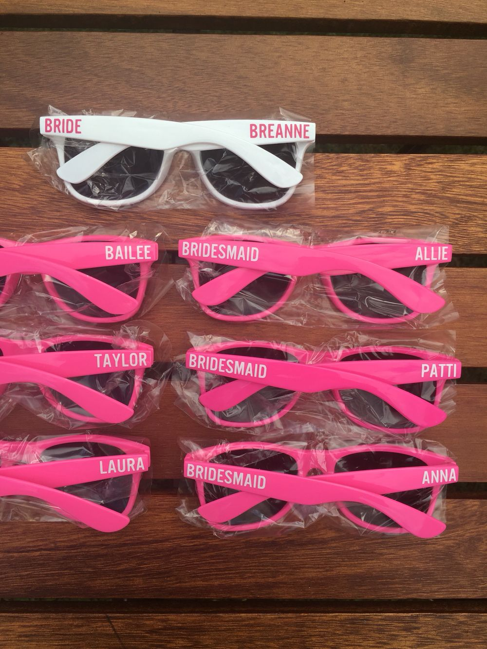 ADULT Personalized Sunglasses, Wedding Favor, Bachelor Party Favor ...
