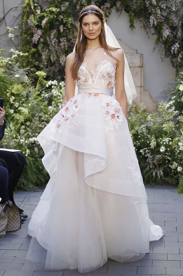 Show-Stopping Wedding Dresses From Bridal Fashion Week