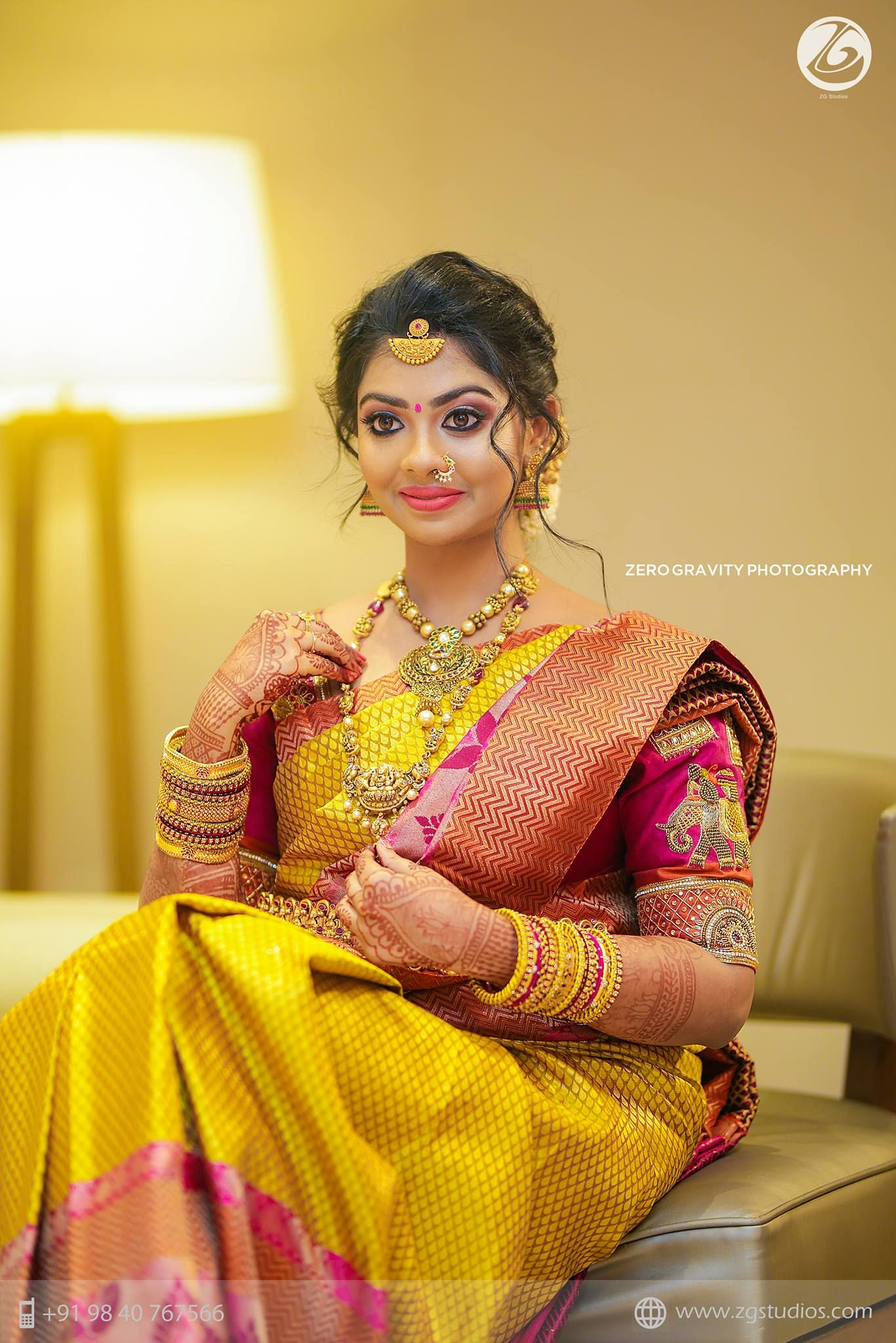 Bridal jewelry South Indian Wedding Collections