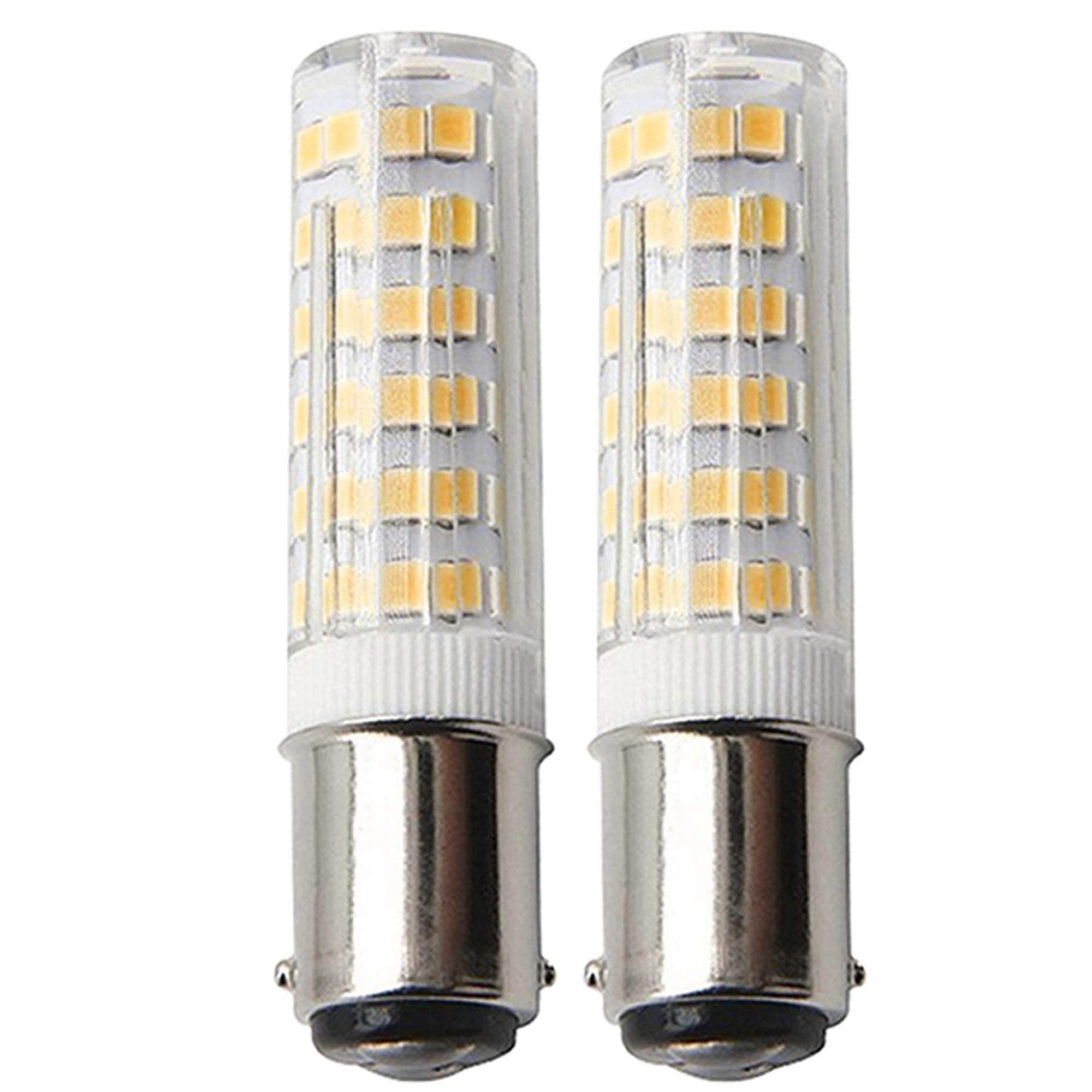 120v 6w Ba15d Dimmable Led Light Bulb 50w Equivalent Warm White 3000k Ba15d Double Contact Bayonet Bas In 2020 Crystal Ceiling Lamps Led Light Bulb Dimmable Led Lights
