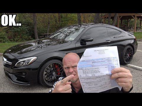 Mercedes Amg C63s Running Costs An Oil Change Is How Much And Some Oil Change Mercedes Amg Mercedes