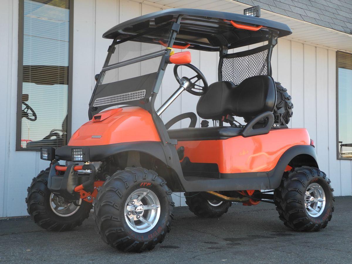 Custom Clemson Ezgo Txt Golf Carts Golf Car Clemson