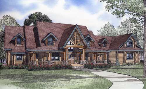 the sunset ridge house plan 8578 log homes i love log cabin rh pinterest ch