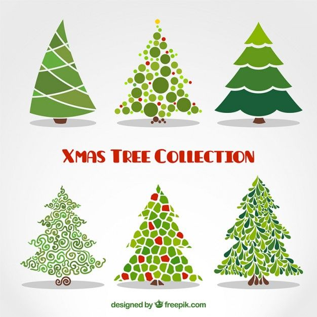 Download Abstract Xmas Trees Collection For Free Christmas Drawing Christmas Tree Painting Christmas Doodles