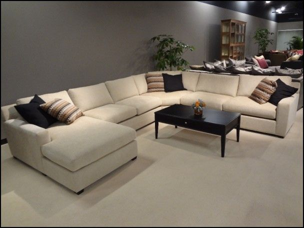Large U Shaped Sectional Sofas Large Sectional Sofa Deep Sectional Sofa U Shaped Sectional Sofa