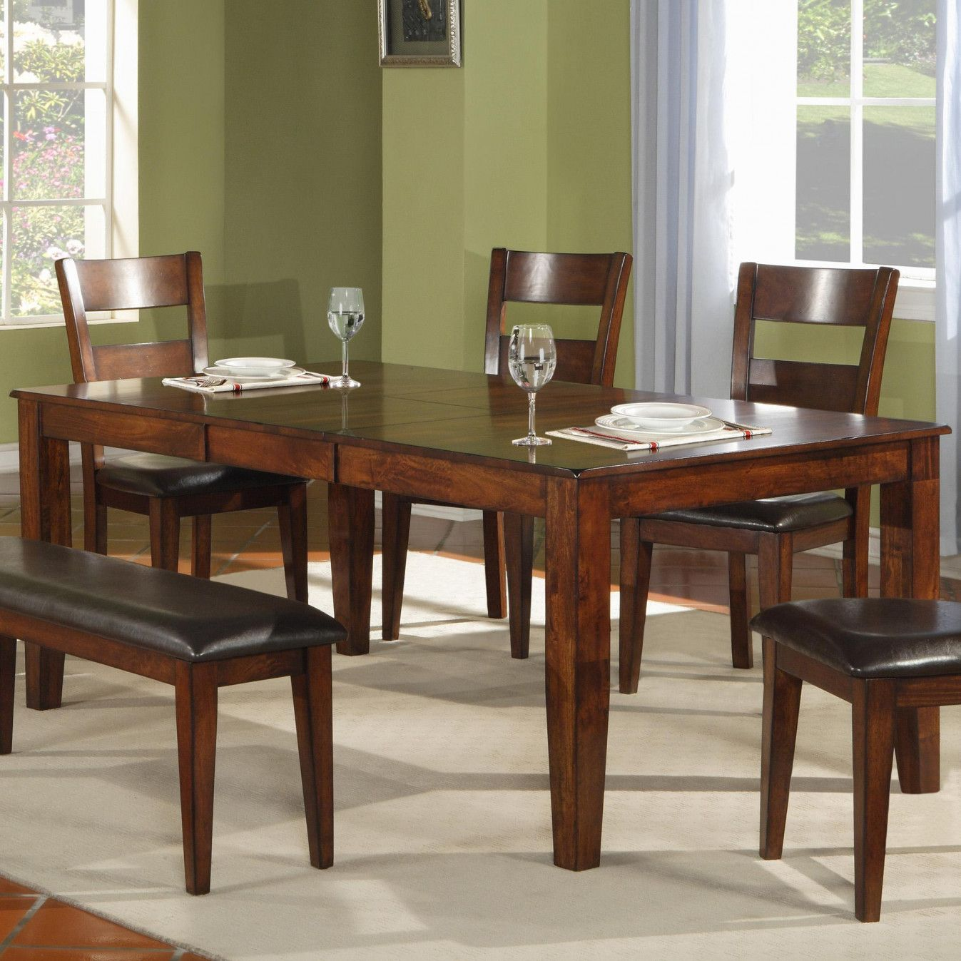 99 Mango Wood Dining Table and Chairs