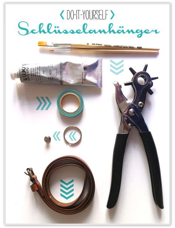 Do It Yourself Schlusselanhanger Crafts Pinterest Chevron