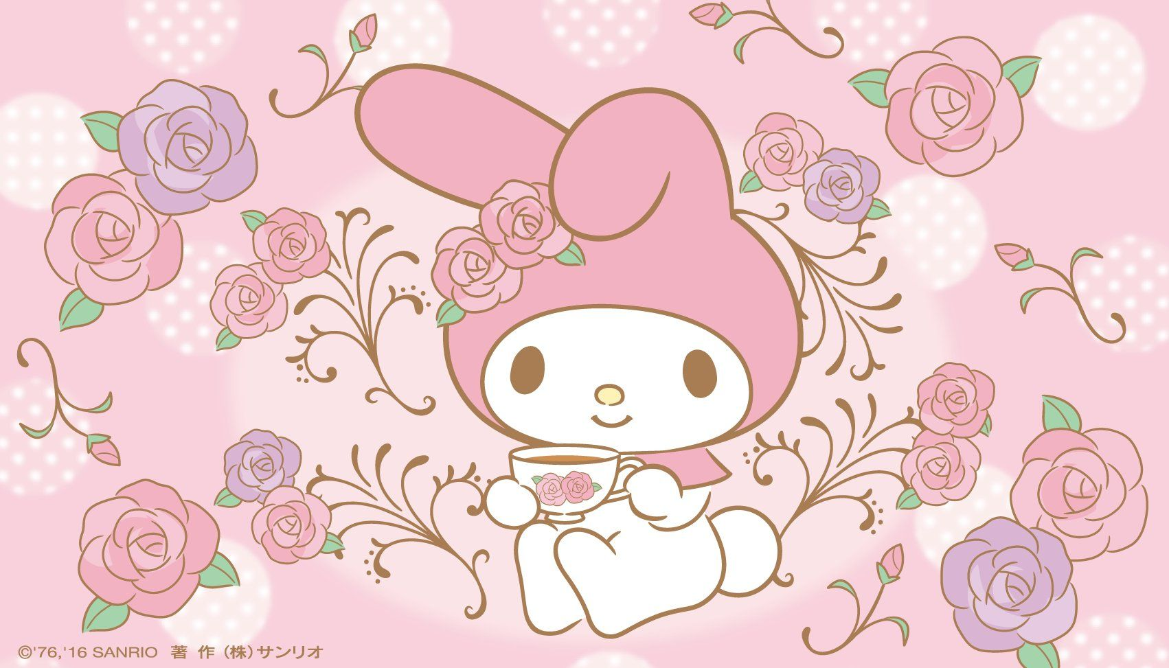 My Melody Aesthetic Background
