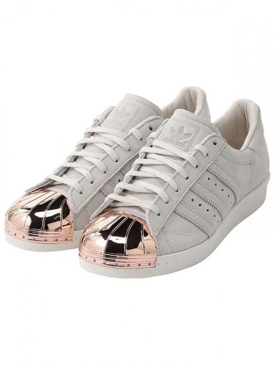 96180d3d4f9 Adidas Superstar 80s Rose Gold Metallic White Leather herbusinessuk ...