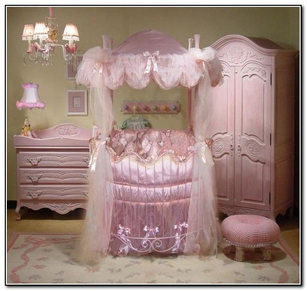 Pink Round Baby Crib   Google Search