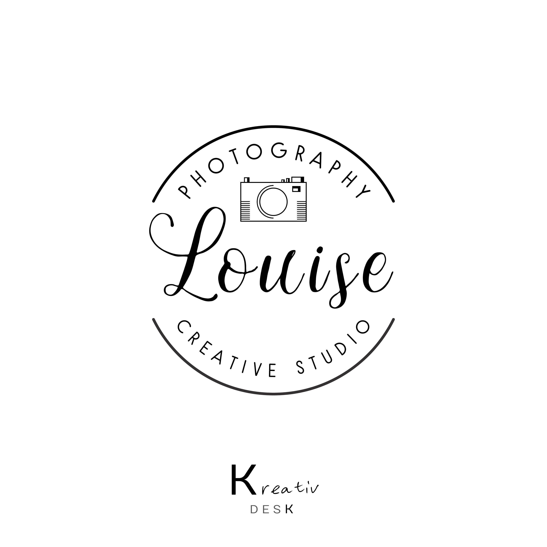 Photographer Logo Design. Photography Logo. Camera Logo