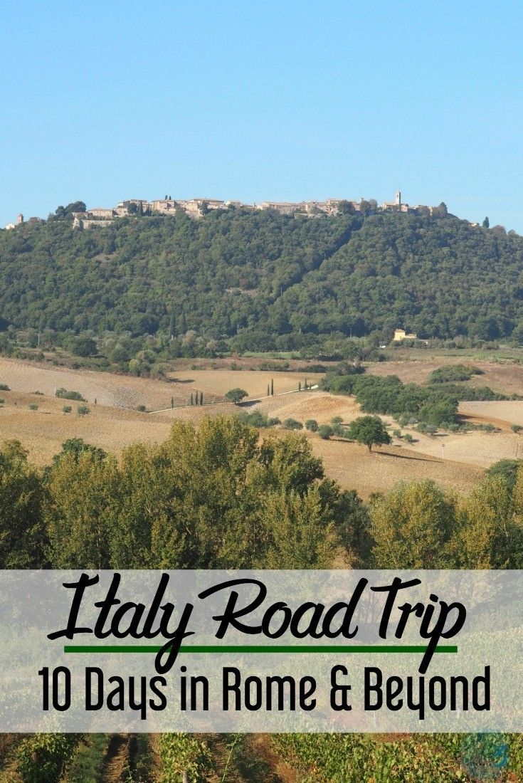 Rome road trip | Italy road trips | 10 day Italy road trip | Italy itinerary #italy #roadtrip