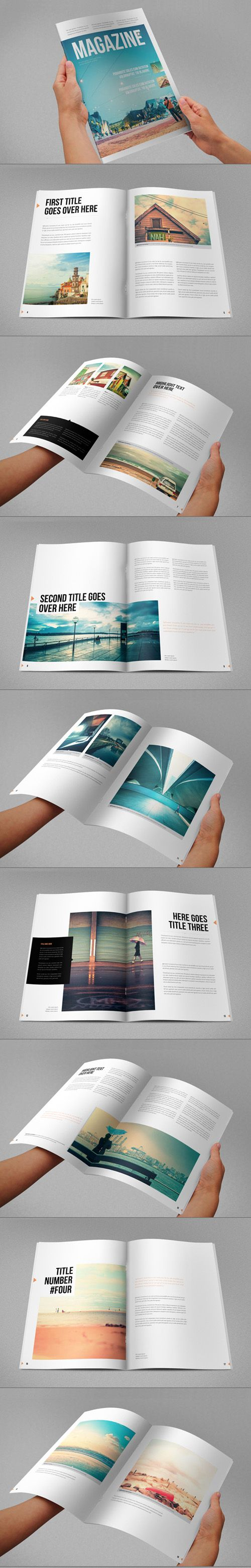 15 creative print ready business brochure designs