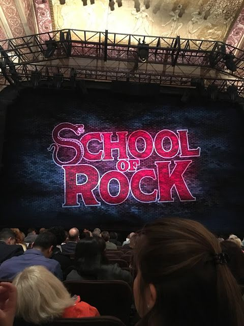 nyc day two memorial gossip girl sites and broadways school of rock at the winter garden theater - Winter Garden Theater Nyc