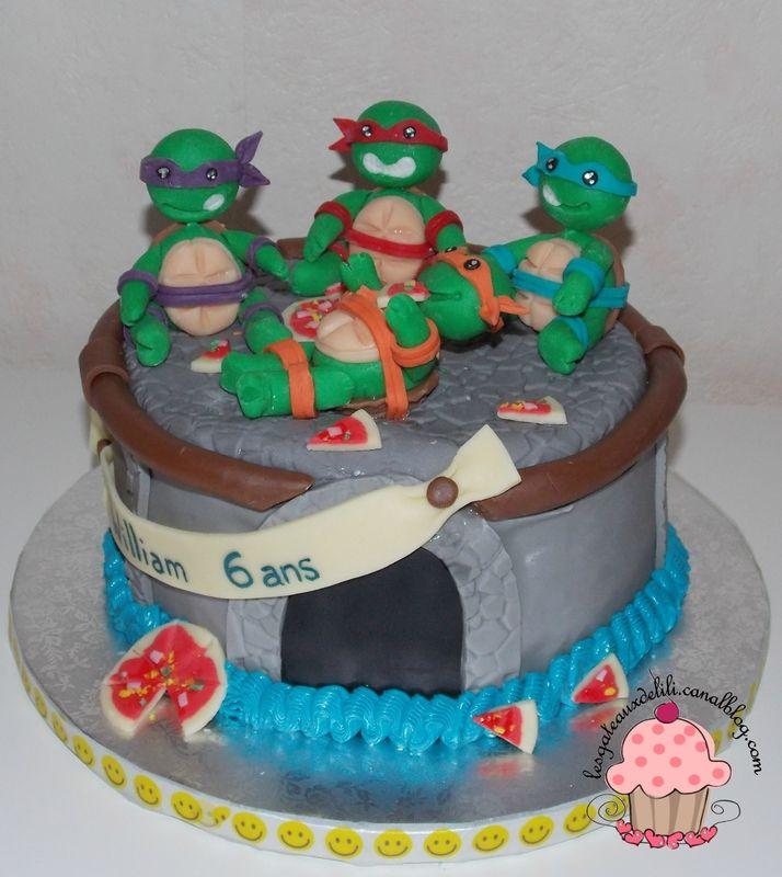 gteau tortues ninja