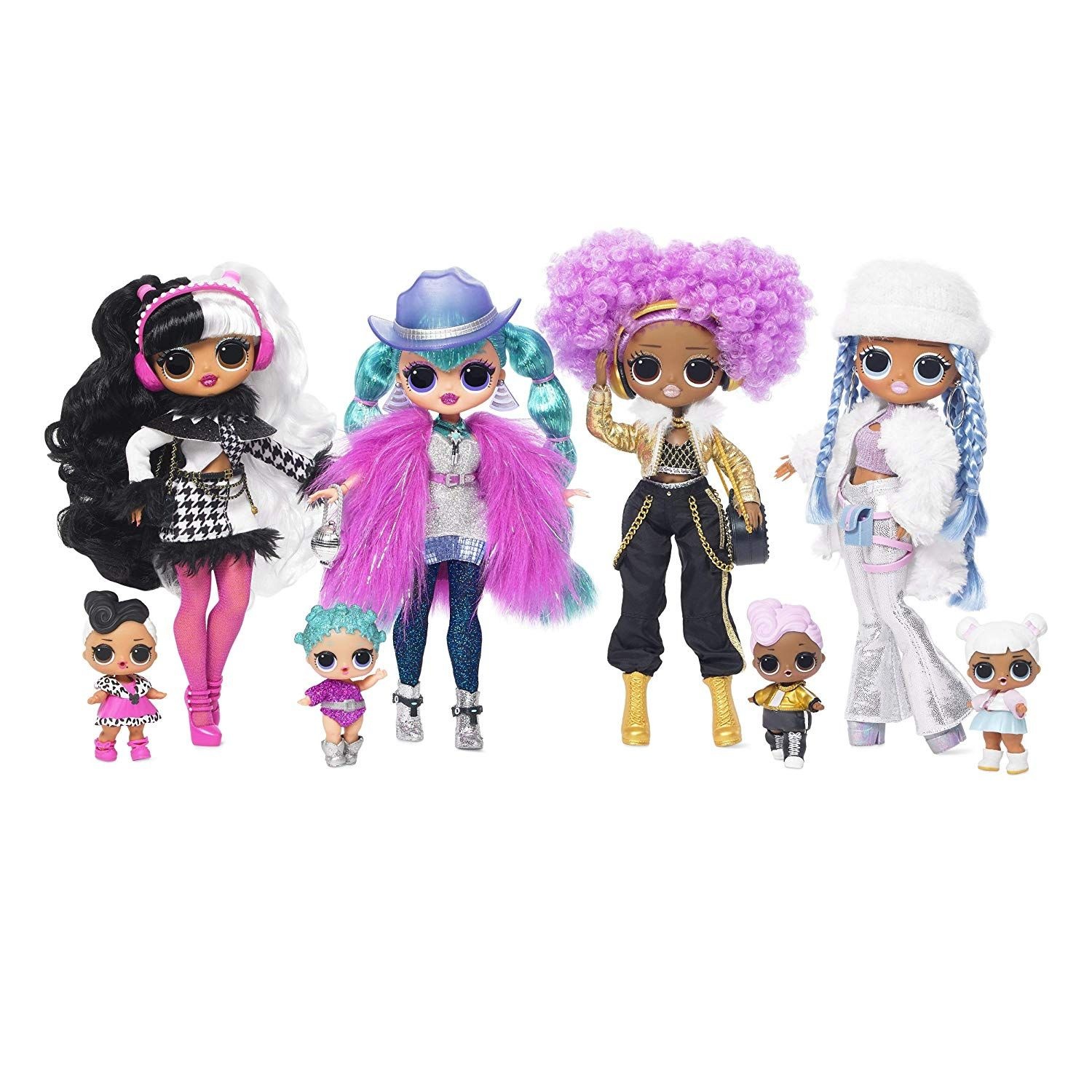 Free 2 Day Shipping Buy 4 Pack L O L Surprise O M G Winter Disco 25 Surprises Each Fashion Dolls Dollie Cosmic N Lol Dolls Fashion Dolls Disco Fashion