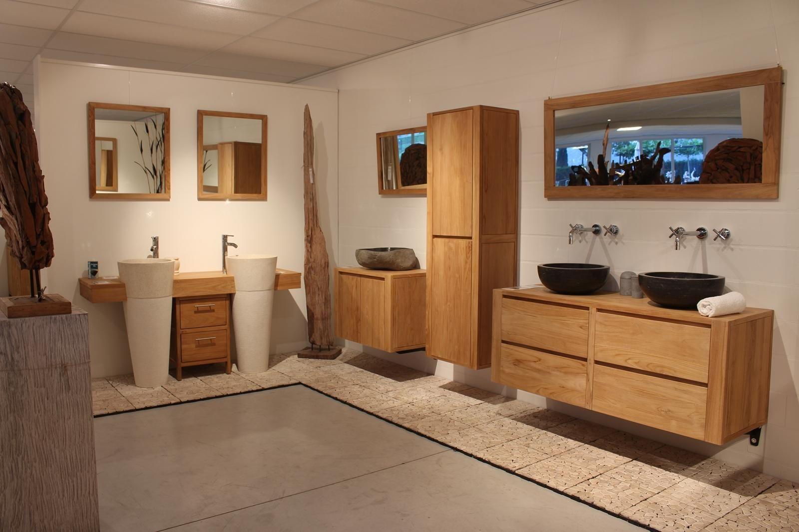 Badkamer Exclusief Someren : Onderscheidende badkamer met een natuurlijke uitstraling