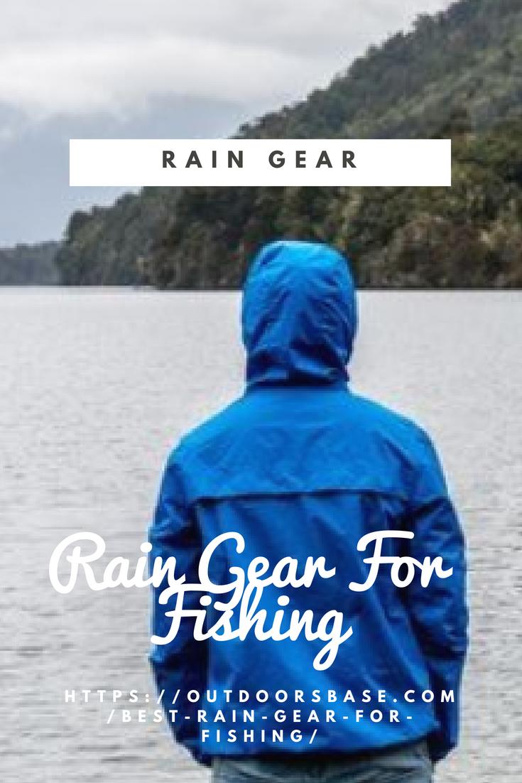 10 Best Rain Gear For Fishing In 2019