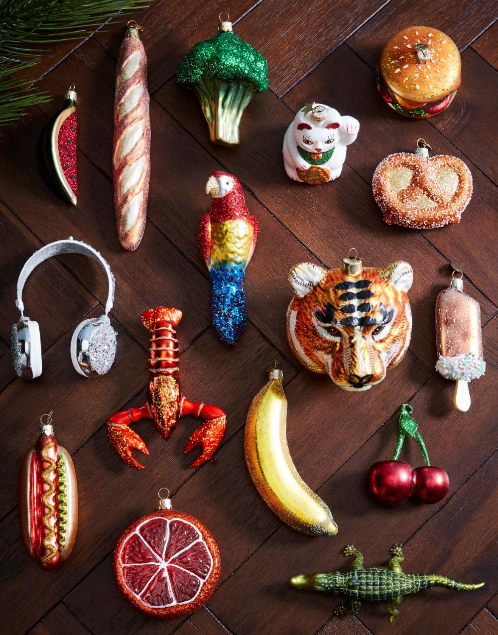 Gisela Graham Mini kersthangers 12-delig • de Bijenkorf #kerstboomversieringen2019