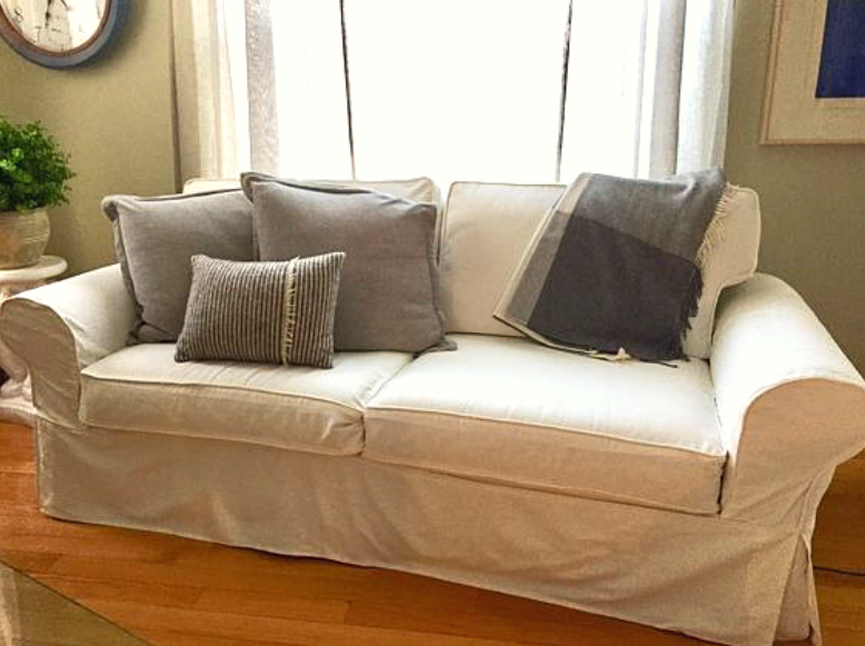 Made To Measure Pottery Barn Sofa Slipcovers Potterybarn Sofa Slipcovers Madetomeasure Livingroomdecor Pottery Barn Sofa Ikea Sofa Covers Custom Couches