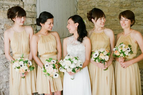 Green Gold Outdoor Wedding From Laura Ivanova Photography