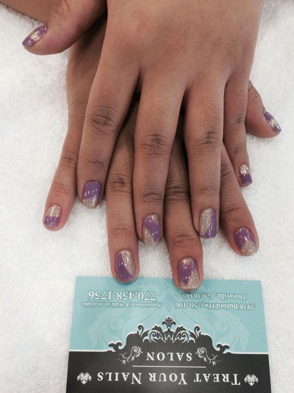 Nail Design at Treat Your Nails #naildesign #nailcare #nailsalon #Atlanta #GA