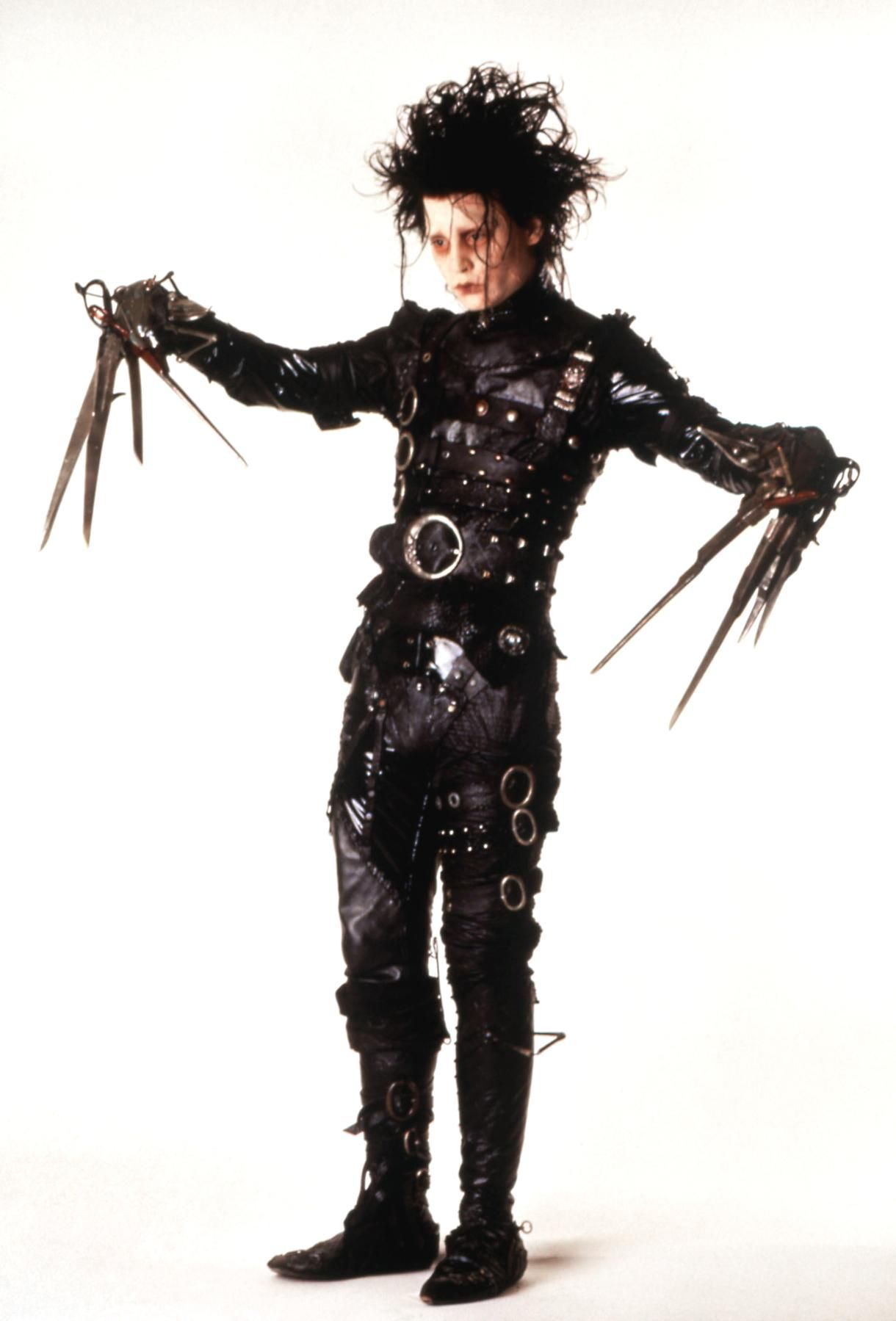The Johnny Depp Look Book With Images Edward Scissorhands Edward Scissorhands Costume Johnny Depp Characters