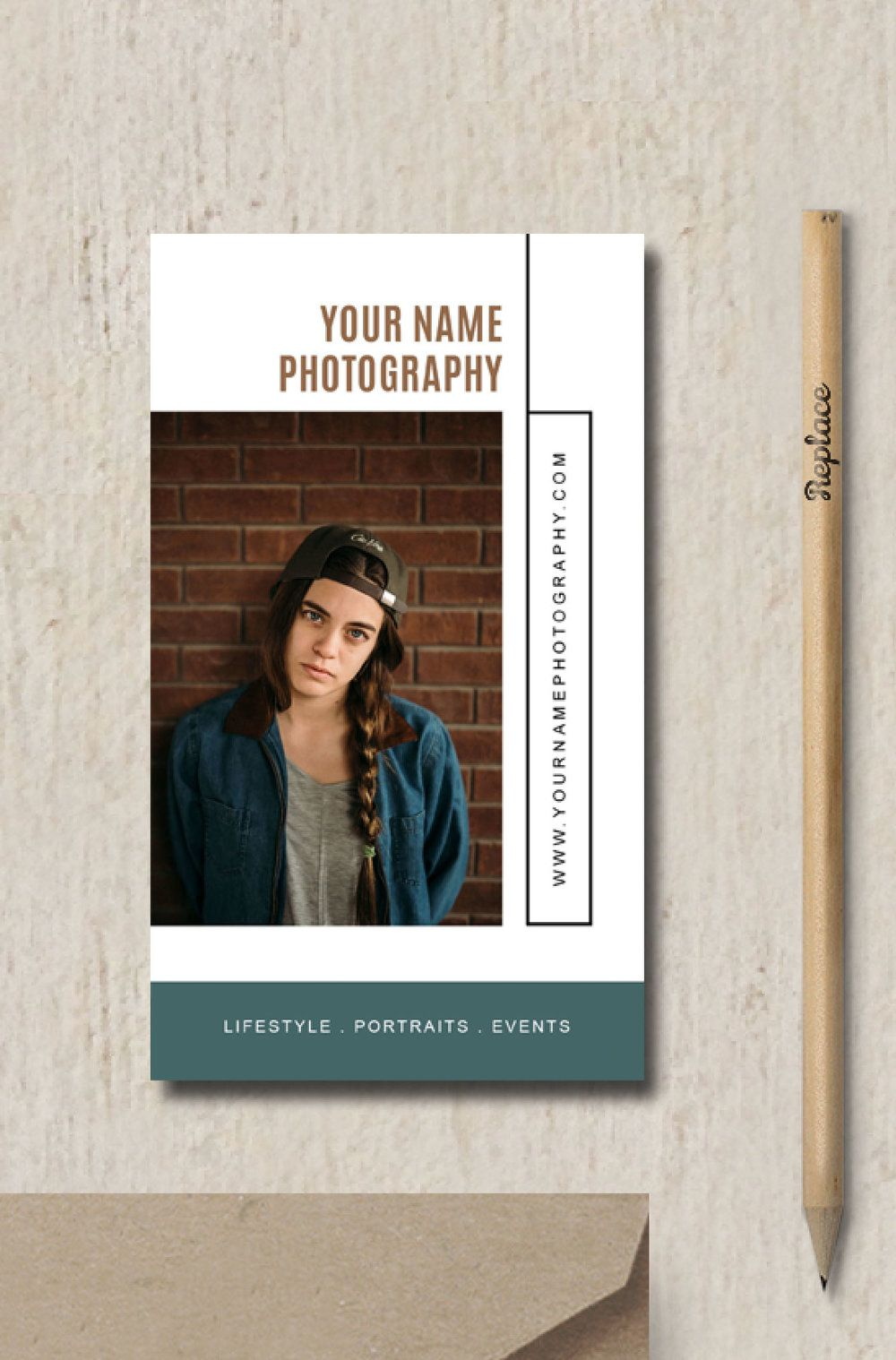 Photography Business Card Template Elm Photographer Business