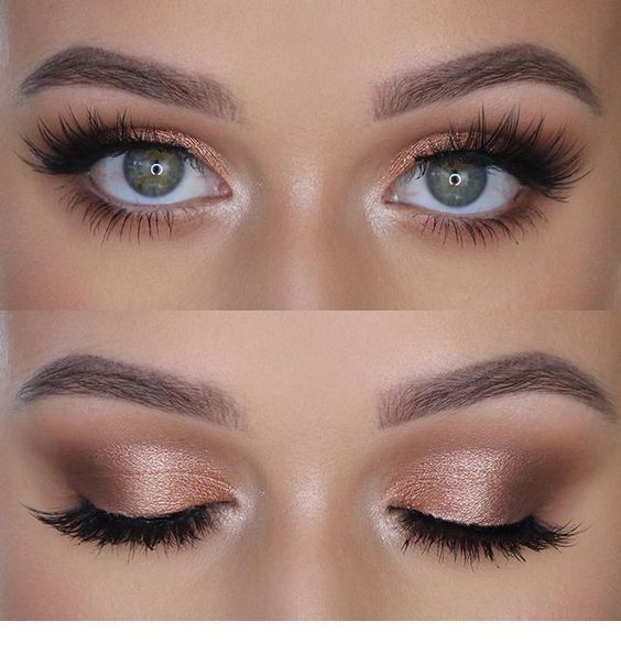 Photo of 41 Top Rose Gold Make-up-Ideen, die aussehen wie eine Göttin   – Make Up – #Aus…