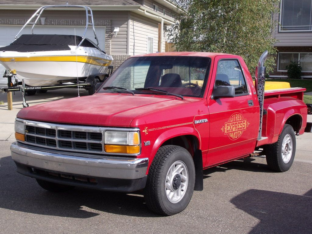 Lil Red Dakota First gen. Dodge Dakota Pinterest Red