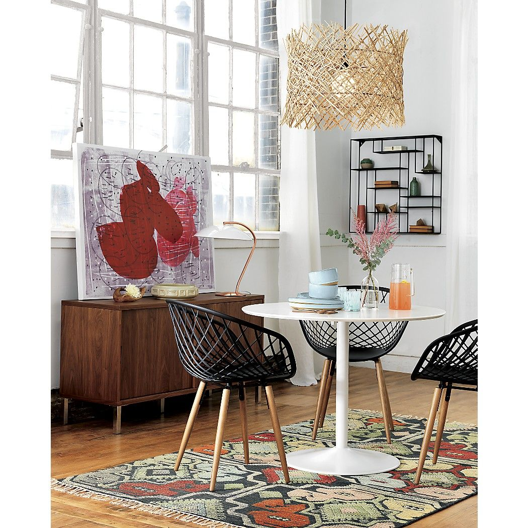 High Tech Construction Meets Classic Modern Design. Made In · White Dining  TableModern ...